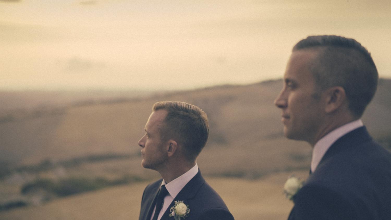 same sex wedding videographer tuscany