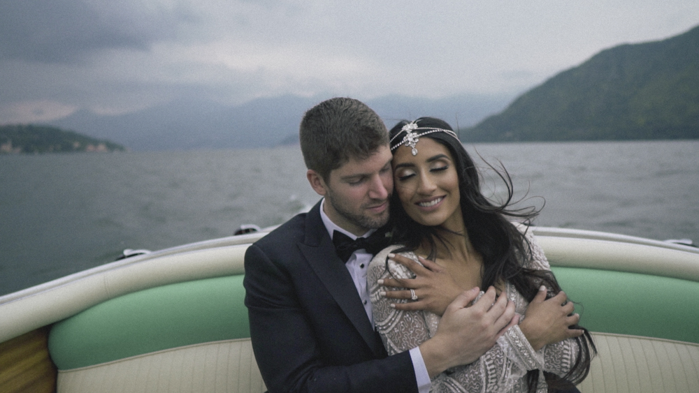 destination wedding videography lake como
