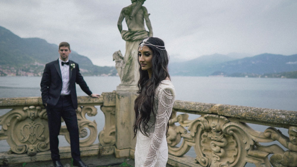 lake como wedding shooting villa balbianello