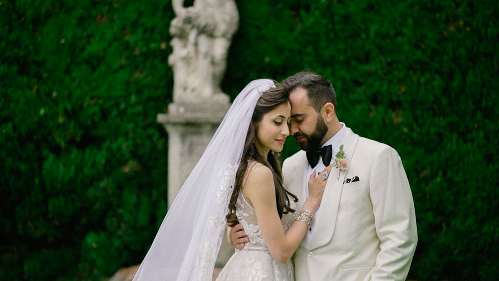 luxury farsi wedding in villa pizzo lake como italy