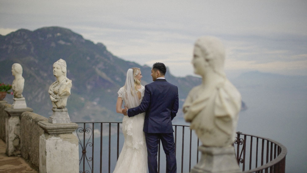 wedding film villa cimbrone ravello amalfi