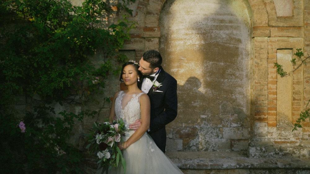 italian wedding videographer tuscany siena italy castello di celsa philippine