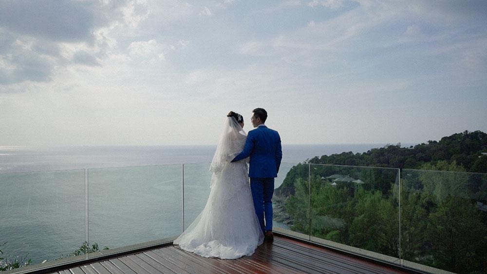 phuket chinese wedding in paresa resort kamala