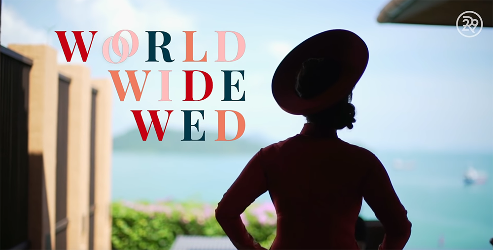 world wide wed refinery29 wedding in phuket thailand