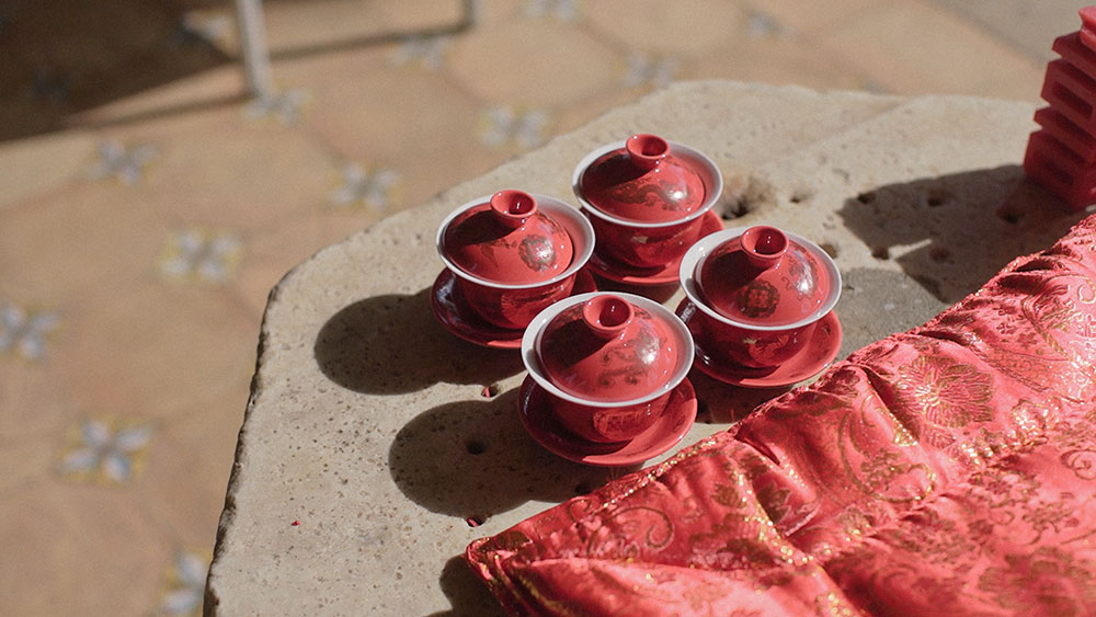 tea ceremony eventsbypaulina ravello villa cimbrone italy wedding videographer