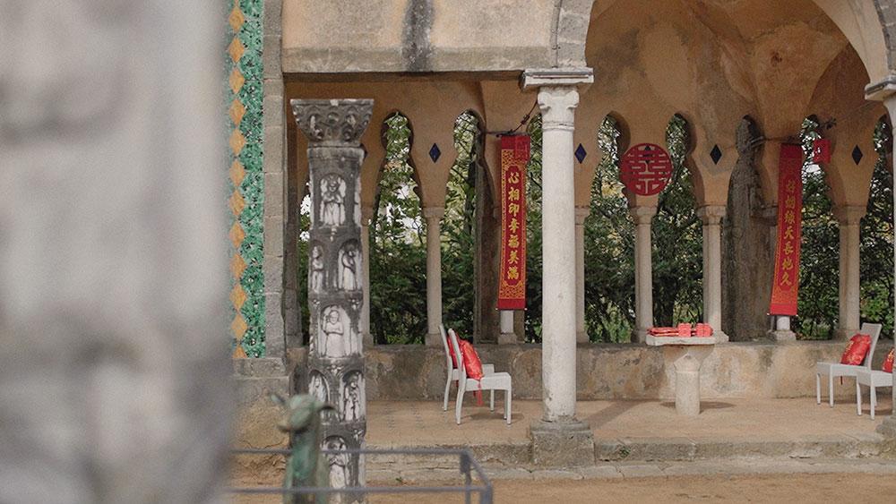 tea ceremony wedding ravello villa cimbrone italy eventsbypaulina
