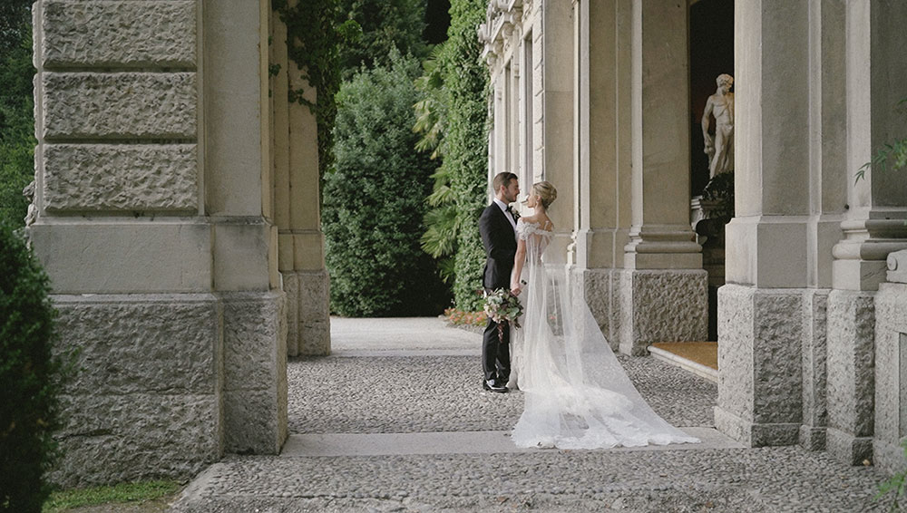destination wedding lake como videographer cernobbio villa erba